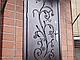 Двери металлические в подъезд с элементами ковки, фото 2