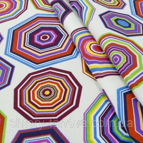 Декоративная ткань для штор, геометрия