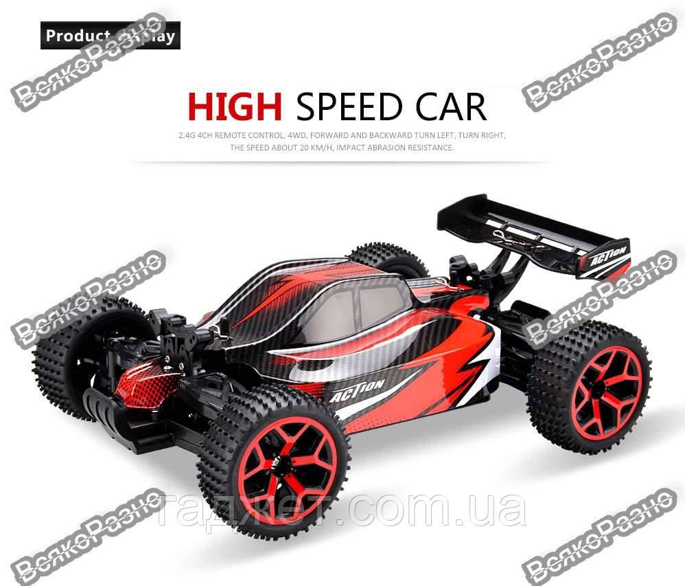 Радиоуправляемая машина Gizmovine RC Car Toys красного цвета