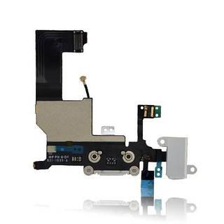 Оригинальный порт зарядки и синхронизации со шлейфом iPhone 5 белый