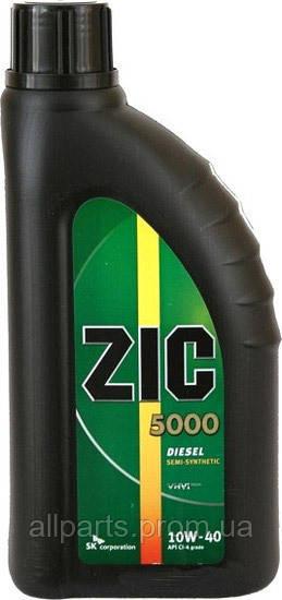 Масло моторное Zic 5000 Diesel 10W-40 (Канистра 1литр)