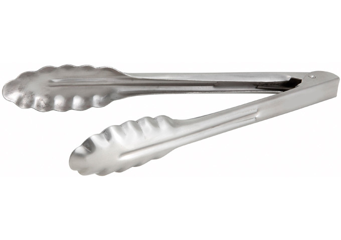 Щипцы кухонные 22 см. Winco нержавеющая сталь (12019)