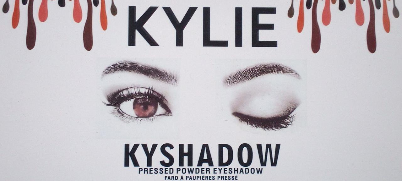 Палетка тіней Kylie Kyshadow
