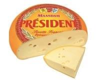 Сыр PRESIDENT Мааздам 1кг