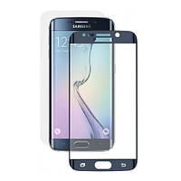 Защитное стекло дисплея Samsung G935 Galaxy S7 Edge синее (0.3 мм, 3D)