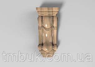 Кронштейн деревянный 18 - 80х180 мм, фото 2
