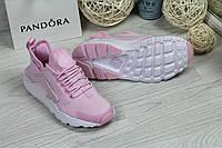 Кроссовки женские розовые Nike Huarache 4735