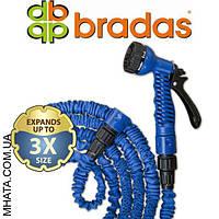 Шланг для полива BRADAS Trick Hose Blue 1/2, 7,5-22м