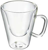 Чашка термо 85 мл., стеклянный с двойными стенками Bormiolli Luigi, Borgonovo