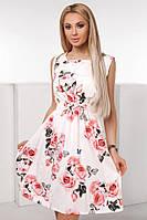 Женское Платье летнее в цветочный принт