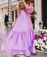 Женское Легкое шифоновое платье