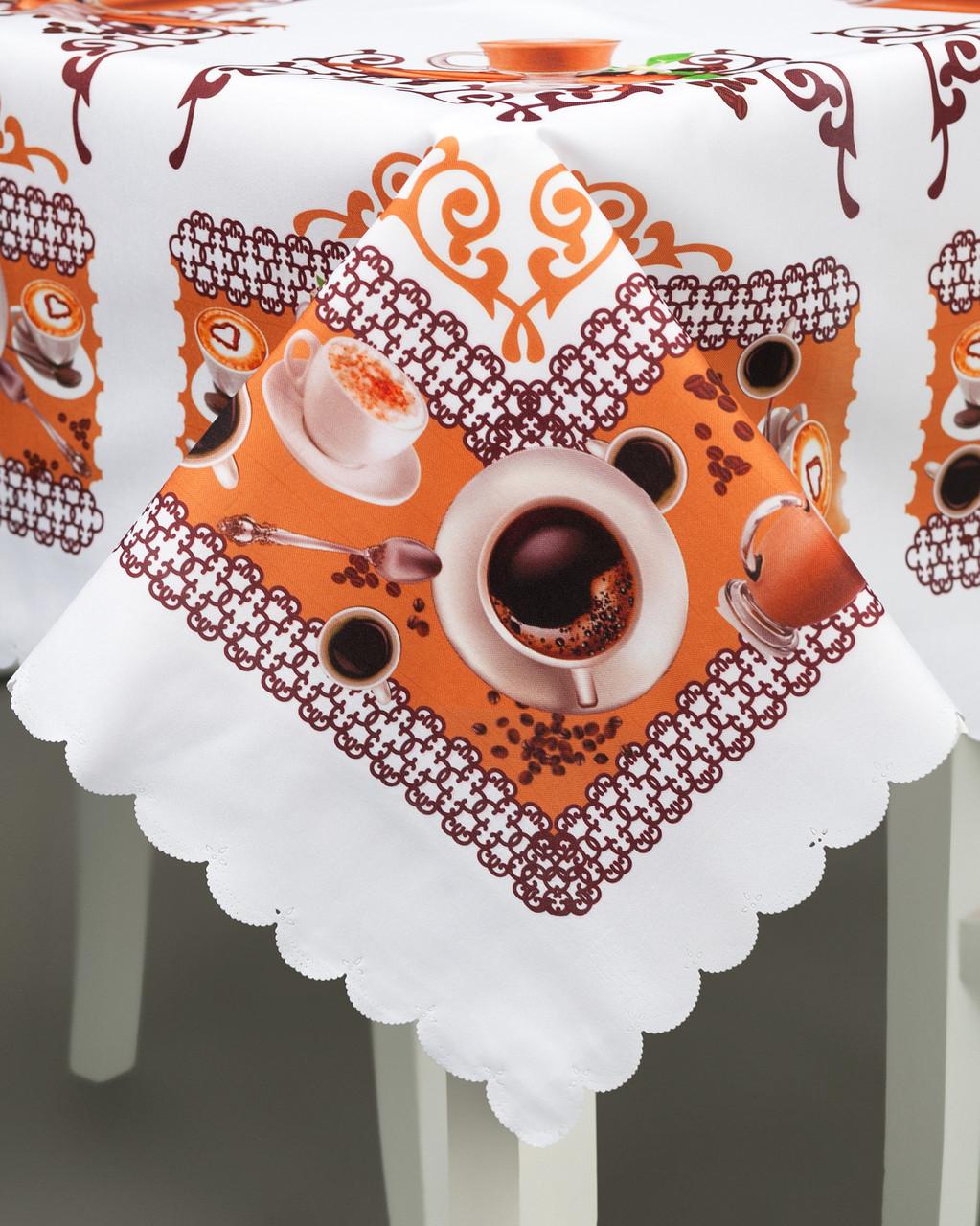 Скатерть Кофе для кухни