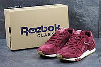 Мужские кроссовки Reebok Gl 6000 бордовые 3911