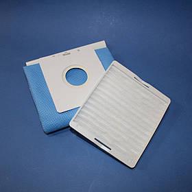 Комплект мешок и HEPA фильтр для пылесоса Samsung SC4100 (DJ69-00420B, DJ63-00539A)