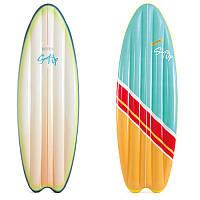 """Надувной пляжный матрас """"Серфинг"""", 178 х 69 см / Надувной матрац водный / Надувной матрас пляжный"""