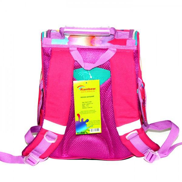 Рюкзак ранец школьный каркасный Fancy Girl RAINBOW 8-500