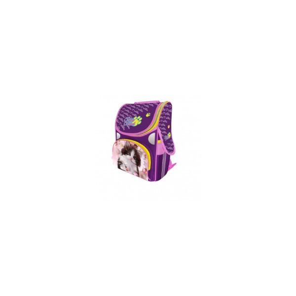 Рюкзак ранец школьный каркасный Fancy Kitten RAINBOW 8-506