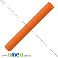 Полимерная глина флуоресцентная, 17 гр., Оранжевая, 1 шт. (GLN-001541)