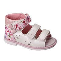 Обувь для девочек, детские босоножки ортопедические белые Tom.m