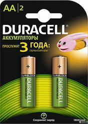 Аккумуляторы Duracell  АА 1300mAh, 2 шт.