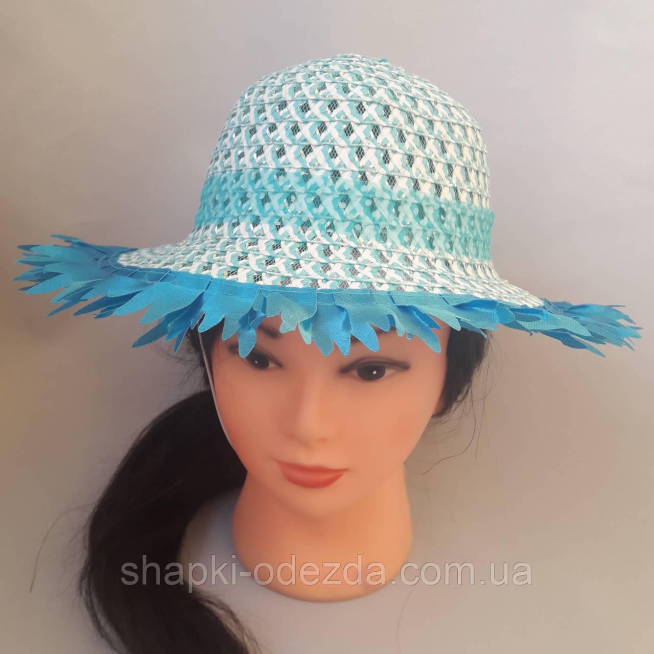 Шляпа детская  52-54