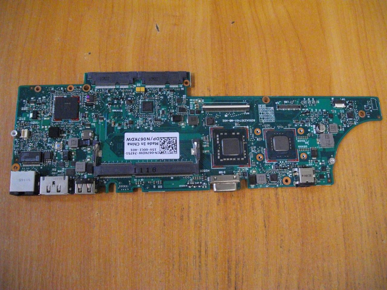 Материнська плата N067KDW Dell Latitude 13 P08S