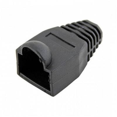 Изолирующий колпачок LogicPower LPCP5BK RJ45 100шт (2288)