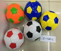 Мяч футбол #2  PVC, 5 видов 180 грамм /100/(CE-102603)