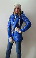 Распродажа!!! Куртка удлиненная зимняя Columbia р.42;44;52 электрик