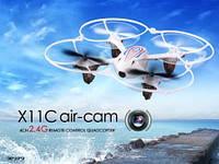 Р.У.Квадрокоптер Syma X11C с гироскопом,камера,аккум.USB 3цв.кор.36*19*9 /18/(X11C)