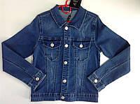 Оригинальная джинсовая куртка для подростка с кпюшоном