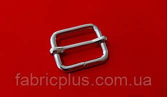 Пряжка передвижка 25 мм (3,9(d)х20 мм(h), никель