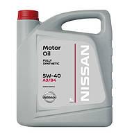 NISSAN Motor Oil 5W40 5л моторное масло синтетическое