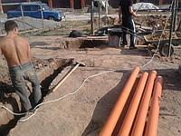 Выкопать траншею на даче