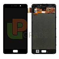 Дисплей для Lenovo P2 Vibe (P2A42/P2C72) + тачскрин, черный,  TFT, копия