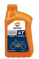 REPSOL 4T MOTO OFF ROAD 10W40 1л четырехтактное масло синтетическое