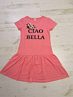 Платье трикотажное для девочек оптом, Glo-story, 134-164 рр., арт. GYQ-5904, фото 3