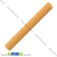Полимерная глина, 17 гр., Желто-оранжевая (сладкая дыня), 1 шт. (GLN-008286)