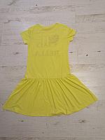 Платье трикотажное для девочек оптом, Glo-story, 134-164 рр., арт. GYQ-5904, фото 7