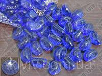 """Галька """"Stone Glass"""" / Синий 1кг, фото 1"""