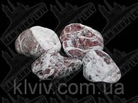 """Галька мраморная """"Рубиновый Остров"""" KLVIV, фр. 2-4см. 10 кг, фото 1"""