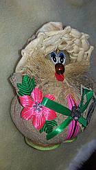 Домовик в солом'яній шапці, ручна робота