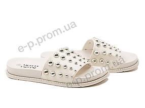 Шлепки женские Violeta (8-287 white) | 8 пар (Код 170456)