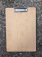 Планшет для меню деревянный, фанера (А4), фото 1