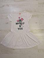 Платье трикотажное для девочек оптом, Glo-story, 98-128 рр., арт. GYQ-5903, фото 2