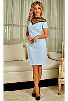 Нарядное женское платье с открытой линией плеч, фото 1