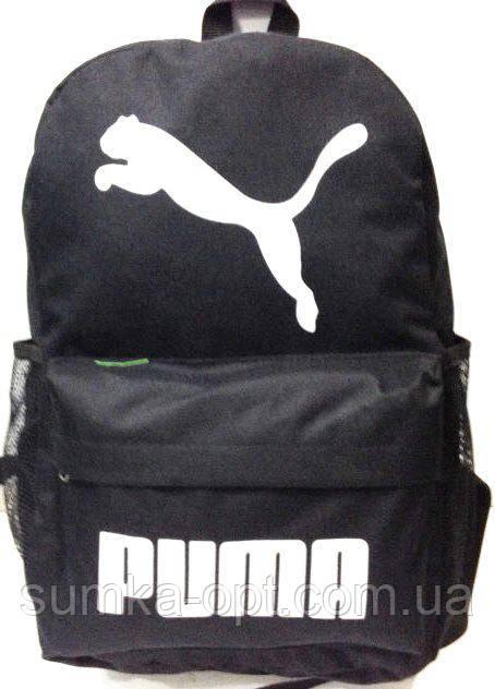 Рюкзаки спорт стиль Puma (черный)30*43