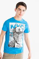 Набор стильных детских и подростковых футболок на мальчика от 6 до 16 лет  C&A Германия