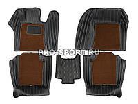 Коврики 3D VIP класса на липучках Infiniti M35 2009+ г.в.