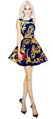 Платья женские с 42 по 50 размер